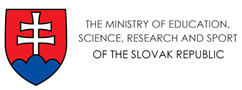 The Ministry of Education, Science, Research and Sport of the Slovak Republic