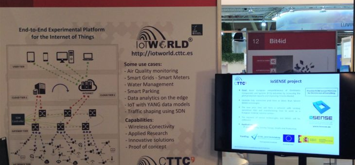 IoSense at Smart City Expo World Congress