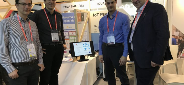 CTTC and IQUADRAT AT SCEWC17