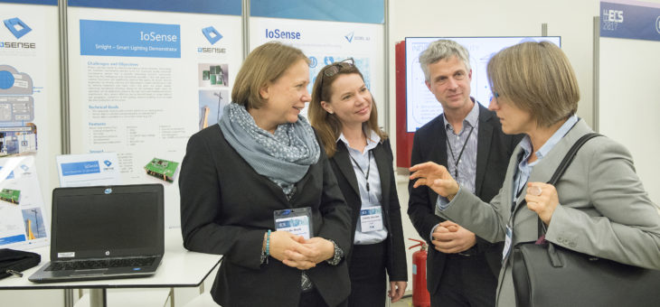 IoSense at EFECS 2017 featuring demonstrators on smart lighting and energy efficient buildings