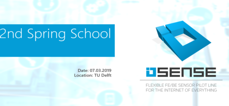 Announcement: 2nd IoSense Spring School'19