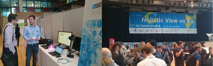 Lighting Demonstrator at the 3rd IEEE 5G Summit